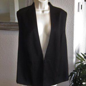 Womens Black Dress Vest Lane Bryant 26 Plus Size
